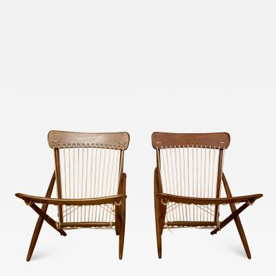 Maruni Studio Maruni Style Lounge Chairs Japan 1960s
