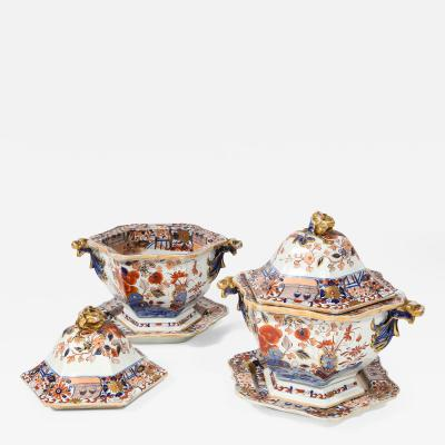 Mason s Pair of Ironstone Tureens