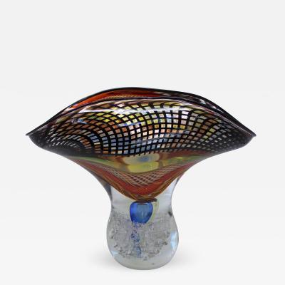Massimiliano Schiavon Ventaglio Vase by Schiavon