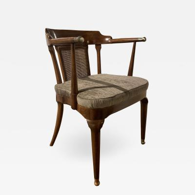 Mastercraft A Rare Walnut Arm Chair by Mastercraft