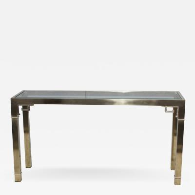 Mastercraft Mastercraft Greek Key Brass Console