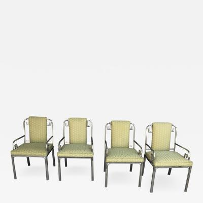 Mastercraft Mastercraft Greek Key Dining Chairs Set Of 4