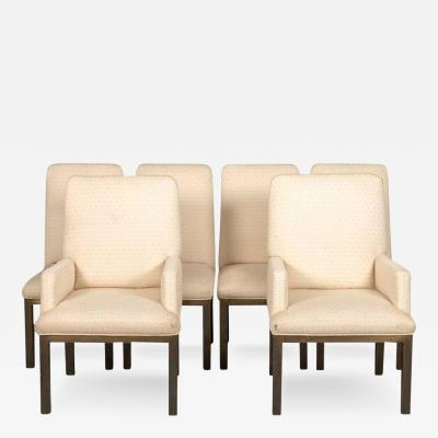 Mastercraft Set of Bronze Dining Chairs by Mastercraft