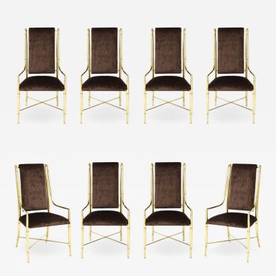 Mastercraft The Imperial Chair Set of Eight by Weiman Warren Lloyd for Mastercraft