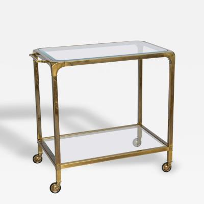 Mastercraft Two Tier Brass Mastercraft Trolley