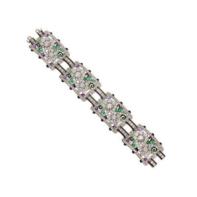 Mauboussin A One of a Kind Art Deco Bracelet