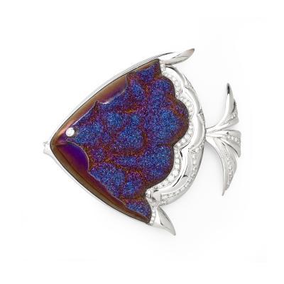 Mauboussin Mauboussin Gold and Diamond Fish Brooch