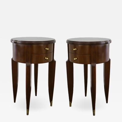 Maurice Leon Jallot Maurice Leon Jallot Pair of Side Tables 1945
