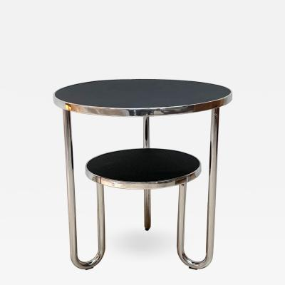 Mauser Werke Bauhaus Steeltube Side Table Germany circa 1930 1940