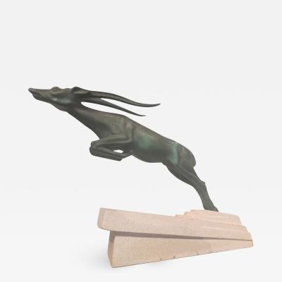 Max Le Verrier Max Le Verrier Demarco Gazelle Statue