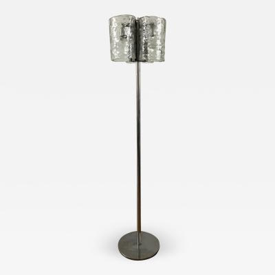 Mazzega Murano 1970s Mazzega Floor Lamp