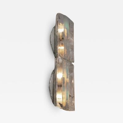 Mazzega Murano Large Wall or Ceiling Lamp by AV Mazzega