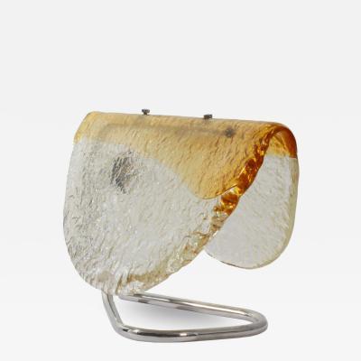 Mazzega Murano Mazzega Murano Slag Glass Table Lamp