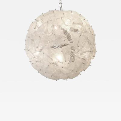 Mazzega Murano Mazzega Very Large Scale Glass Sputnik Chandelier