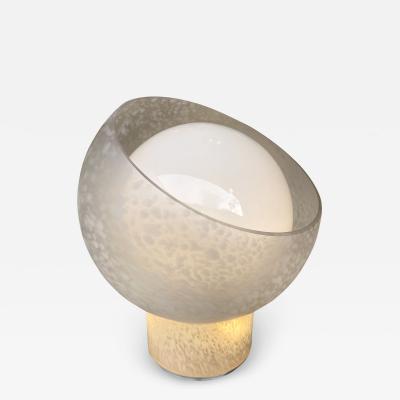 Mazzega Murano Moon Lamp Murano Glass by Mazzega Italy 1970s