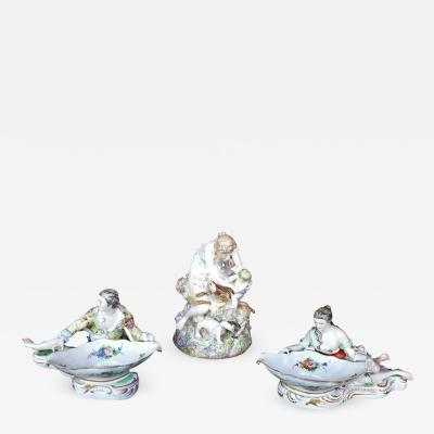 Meissen Collection of Three Meissen Figures