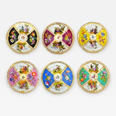Meissen Meissen Plates Set of Six