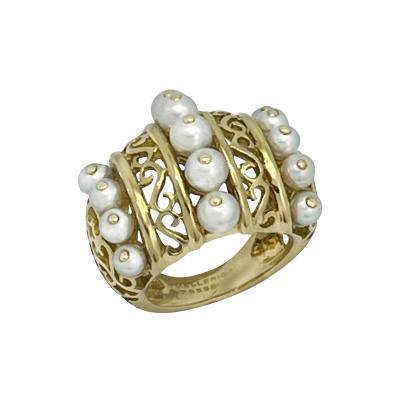 Mellerio dits Meller Mellerio Paris 1940s ring