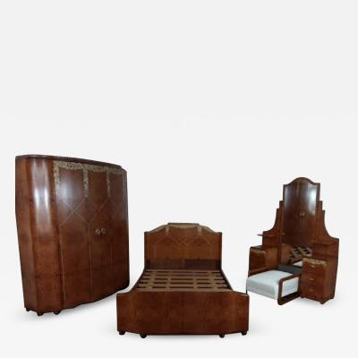 Mercier Fr res Art deco bedroom suite by mercier freres
