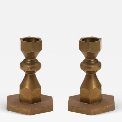Metallslojden Gusum Hexagonal Candlesticks by Metallslojden Gusum