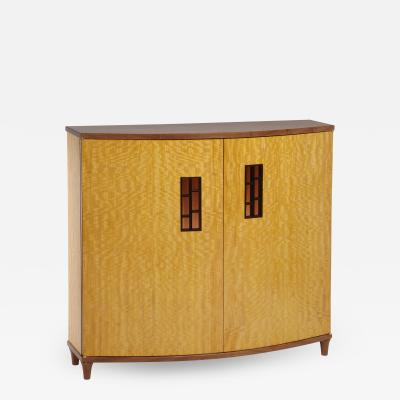 Michael Gloor Design Bow Front Cabinet