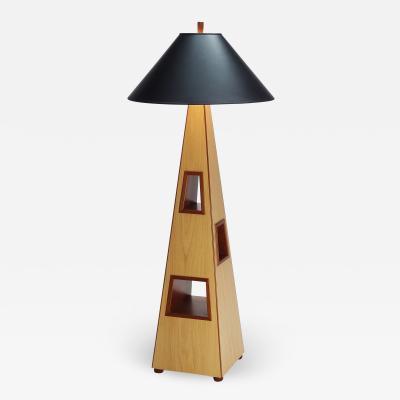 Michael Gloor Design Enoki Window Floor Lamp