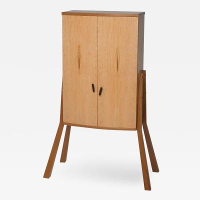 Michael Gloor Design Walking Man 3 Drinks Cabinet