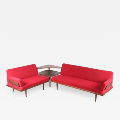Minerva Corner Sofa by Peter Hvidt Orla Molgaard Nielsen for France Son