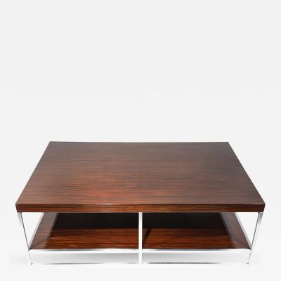 Minotti Macassar Ebony Coffee Table by Minotti