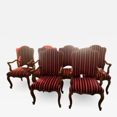 Minton Spidell Minton Spidell Regence French Regency Dining Chairs Set of 6