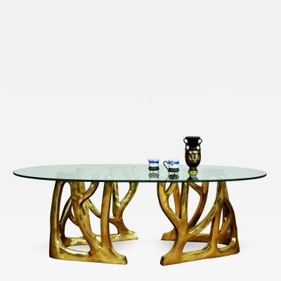 Misaya Brass Coffee Table Galaxy Misaya