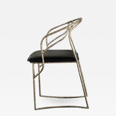 Misaya Handsculpted Brass Chair Masaya