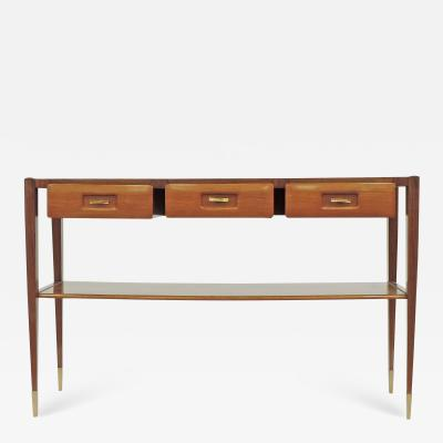 Mobilificio Dassi Dassi console with three drawers Italy 1950s