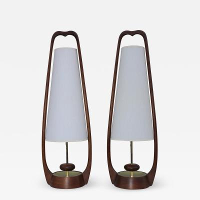Modeline 1960s Mid Century Modern Table Lamps By Modeline