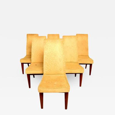 Monteverdi Young Six Dining Chairs by Maurice Bailey for Monteverdi Young Classic Mid Century