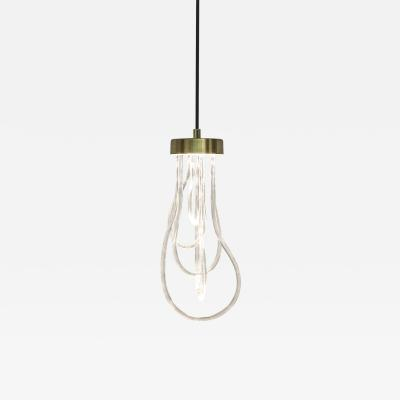 Morghen Studio Brass Light Pendant Cascade