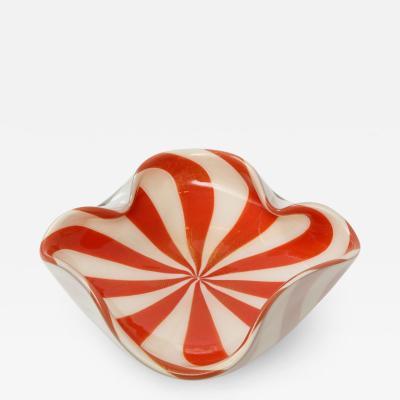 Murano 1960s Mid Century Modern Murano Glass Decorative Bowl