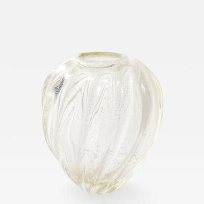 Murano Glass Sommerso Murano Glass Vase