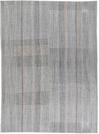 NASIRI Mid Century Modern Style Minimalist Flatweave Rug