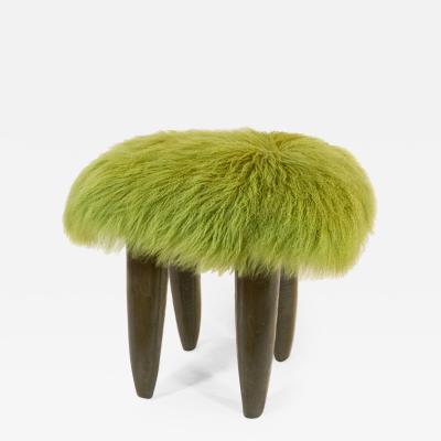 NOA Living FUFU in grasshopper green with gray green legs