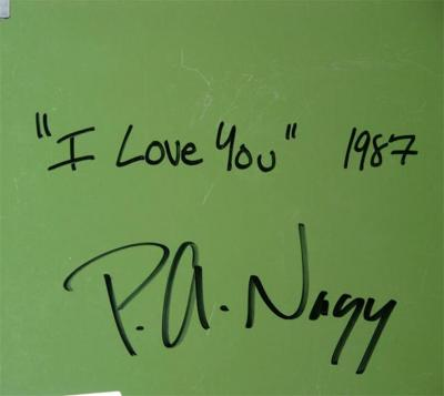 Nagy Peter Nagy I Love You Etched Magnesium