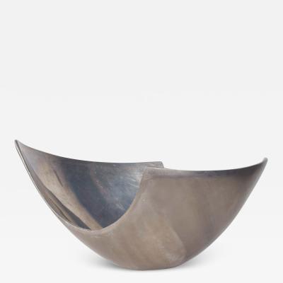 Nambe Modern Sculptural Aluminum Bowl Nambe Era