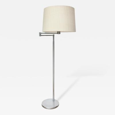 Nessen Studios Early Swing Arm Floor Lamp by Nessen Studio