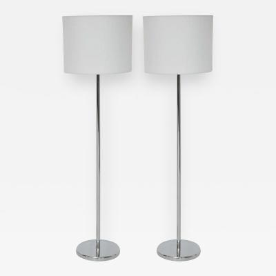 Nessen Studios Nessen Studio Floor Lamps Polished Nickel