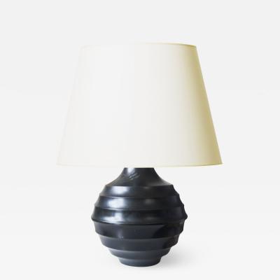 Nilsson och Johansson AB Nilsjohan Art Deco Bronze Lamp by Nilsson Johansson