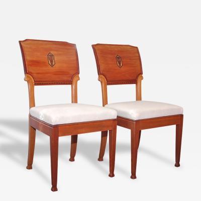Nordiska Kompaniet A Pair of Chairs by Nordiska Kompaniet Circa 1915