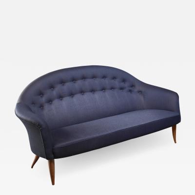 Nordiska Kompaniet Kerstin Holmquist blue 3 seater Paradiset sofa