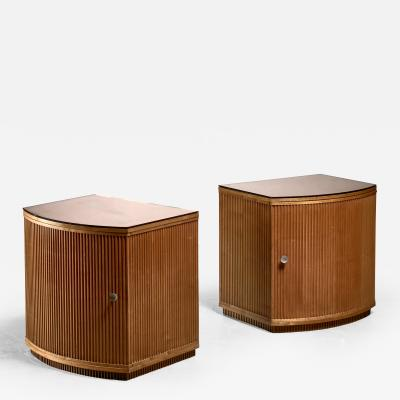 Nordiska Kompaniet Pair of Nordiska Kompaniet side tables Sweden 1937