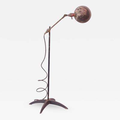 O C White 1930s Articulating Floor or Table Lamp by O C White