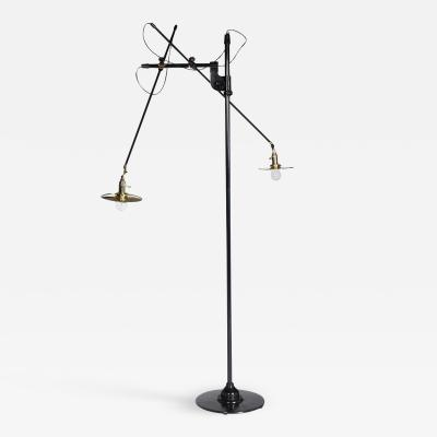 O C White O C WHITE ADJUSTABLE ARTICULATING FLOOR LAMP